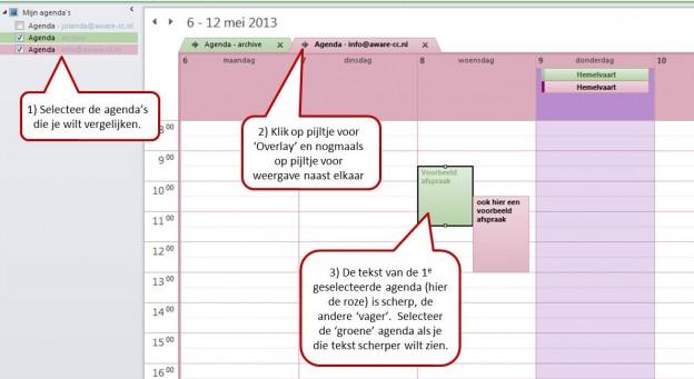 agenda overlay