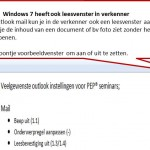 leesvenster windows 7