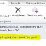 onderwerp regel e-mail